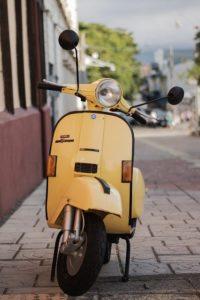 אופנוע כבד או קל ראשית